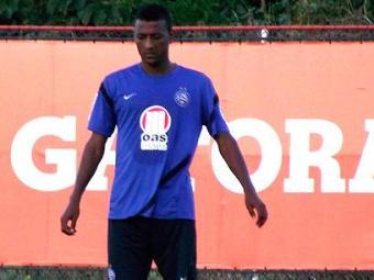Elias volta a treinar e vive expectativa de encarar o Palmeiras, mas chances são remotas - Foto: Assessoria do Esporte Clube Bahia / Divulgação