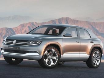 O SUV compacto será baseado nas linhas do conceito Cross Coupé - Foto: Divulgação/Volkswagen