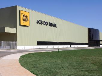 Nova fábrica da JCB em Sorocaba - Foto: Divulgação
