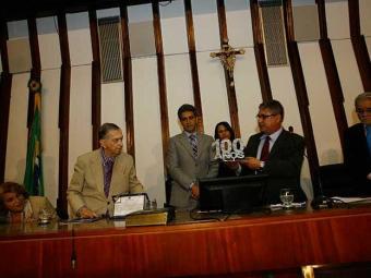 Sessão solene na AL ressaltou a relevância do jornal para a Bahia - Foto: Margarida Neide   Ag. A TARDE