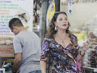 Olenka se vestiu como Muricy para conquistar Adauto - Foto: Divulgação | TV Globo
