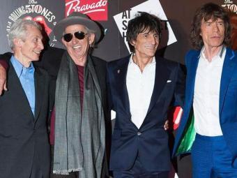 A partir da esquerda: Charlie Watts, Keith Richards, Ronnie Wood e Mick Jagger - Foto: Agência Reuters