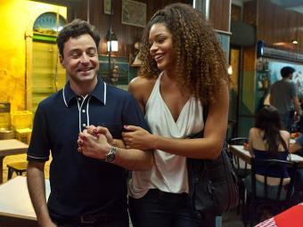 Juliana Alves na cena do filme