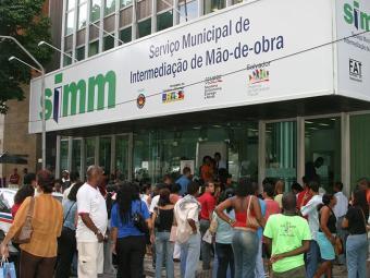 Há postos do Simm no Comércio (foto), Cabula, Cajazeiras e Boca do Rio - Foto: Eduardo Martins   Arquivo   Ag. A TARDE