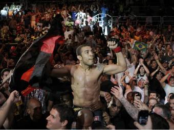 Próximo UFC no Brasil deve receber defesa de cinturão de José Aldo - Foto: Antonio Lacerda/EFE