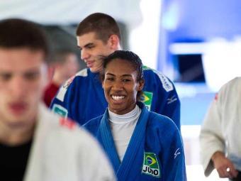 Primeira medalhista em olimpíada, a brasiliense não foi a Londres - Foto: Márcio Rodrigues | CBJ