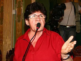 Vânia Galvão assegura que não estava pedindo voto aos eleitores - Foto: Fernando Amorim   Ag. A TARDE