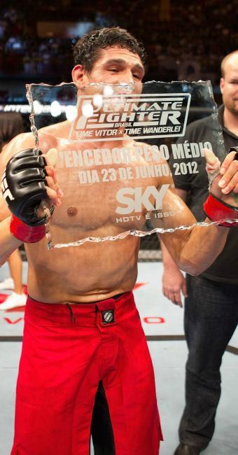 Na 1ª edição do TUF Brasil, Cezar Mutante foi campeão entre os Médios - Foto: Divulgação/UFC