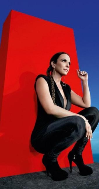 Imagem do editorial do novo CD de Ivete Sangalo - Foto: Gui Paganini   Divulgação