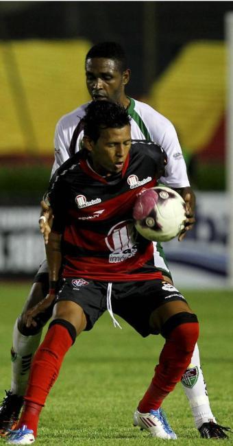 Índio só atuou durante poucos minutos contra o Fluminense de Feira - Foto: Eduardo Martins | Ag. A TARDE