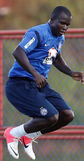 Recuperado, Jones volta aos treinos e fica à disposição de Jorginho para jogo com o Coxa - Foto: Eduardo Martins | Agência A TARDE