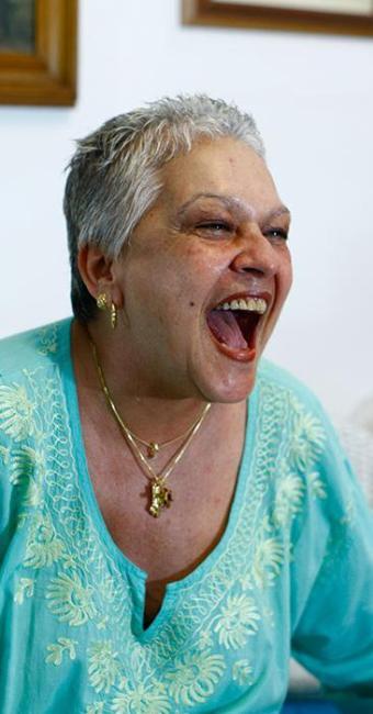 Gargalhada da atriz era uma das marcas registradas - Foto: Fernando Vivas   Ag. A TARDE
