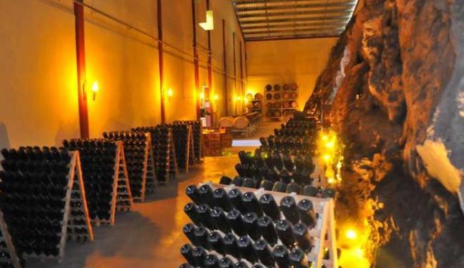 Cave da vinícola Marco Luigi, no Vale dos Vinhedos - Foto: Gilmar Gomes | Ibravin