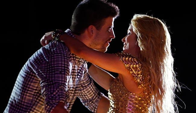 Shakira e Piqué ficaram felizes com a notíicia da gravidez da cantora - Foto: Divulgação