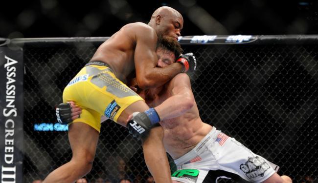 Última luta de Anderson foi há cerca de três meses, contra Chael Sonnen - Foto: David Becker/AP