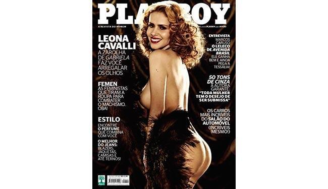 Leona Cavalli posou em um ensaio sensual pela primeira vez - Foto: Divulgação   Playboy