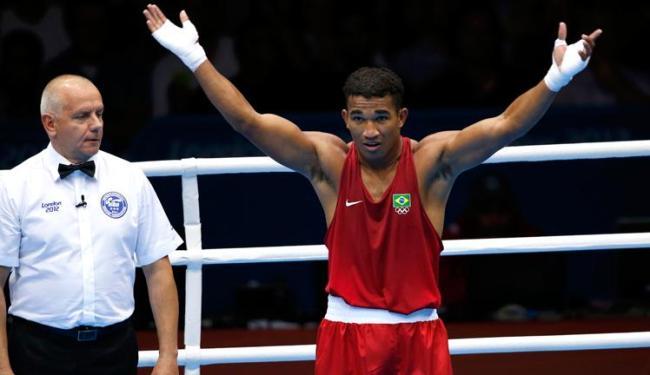 Esquiva aguarda por propostas de patrocínios à altura da sua conquista olímpica - Foto: Murad Sezer/Reuters