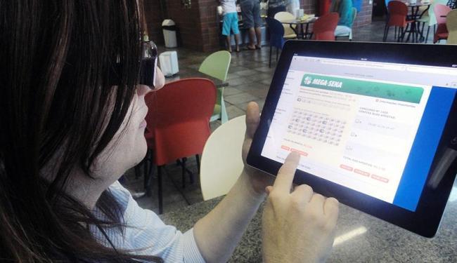 Apostas on line ainda são restrita para clientes da Caixa Econômica Federal - Foto: Divulgação | Caixa Econômica Federal