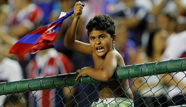 Crianças até 12 anos poderão entrar gratuitamente no jogo quarta (10) em Pituaçu - Foto: Eduardo Martins | Ag. A Tarde