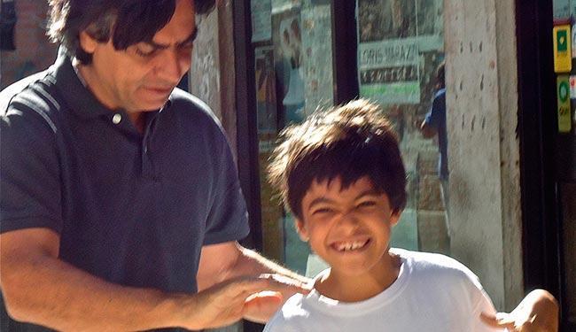 Diogo Mainardi escreveu sobre a paralisia cerebral do filho Tito - Foto: Acervo Pessoal