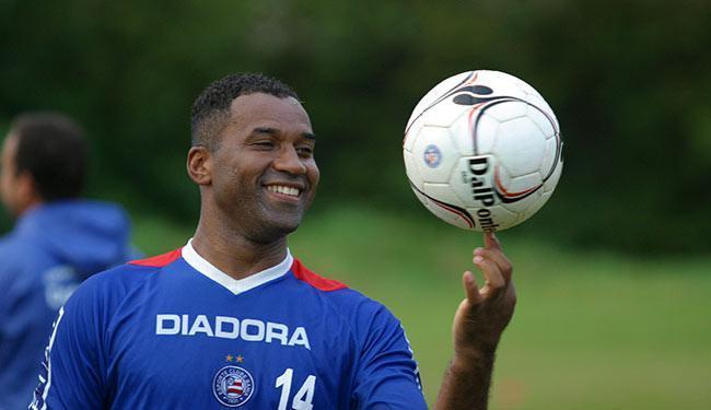 Jogador teve uma passagem breve pelo Bahia em 2005 - Foto: Fernando Amorim | Ag. A TARDE - 02.08.2005