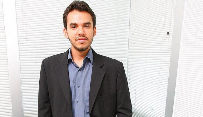 Jovens profissionais como Diego Frois, 24, apostam em trabalhos desafiadores - Foto: Marco Aurélio Martins | Ag. A Tarde