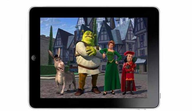 Garotada vai poder assistir os filmes infantis no iPad - Foto: Divulgação