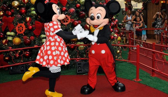 Personagens da Disney em Salvador: diversão para os pequenos no final de semana - Foto: Divulgação | Shopping Paralela