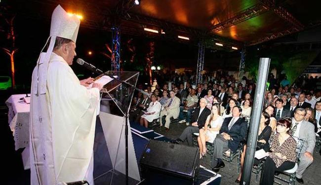 Arcebispo diz que história de A TARDE se confunde com a do povo baiano - Foto: Mila Cordeiro | Ag. A TARDE