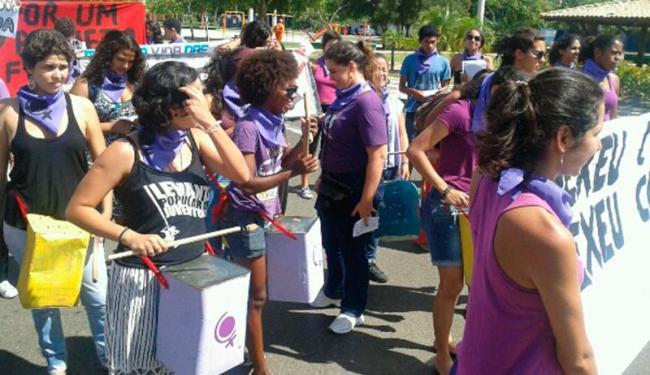 Protesto é organizado pelo Núcleo Negra Zeferina, da Marcha Mundial de Mulheres - Foto: Divulgação