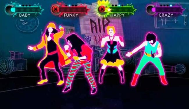 Just Dance 4 permite que até quatro pessoas dancem juntas no game - Foto: Divulgação