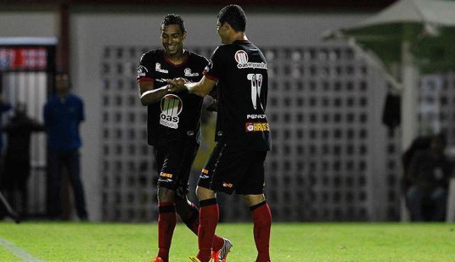Juntos, média de gols da dupla é de 1,5 gols por partida - Foto: Eduardo Martins / Ag. A Tarde