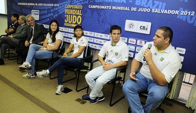 Judocas estiveram na Bahia em setembro para divulgar o Mundial - Foto: Marcelo Reis/Secom