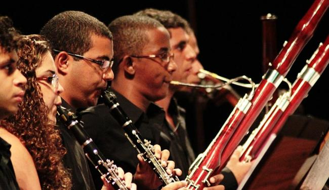 Cerca de 500 músicos de todos os núcleos do programa tocarão com convidados internacionais - Foto: Tatiana Golsman | Divulgação