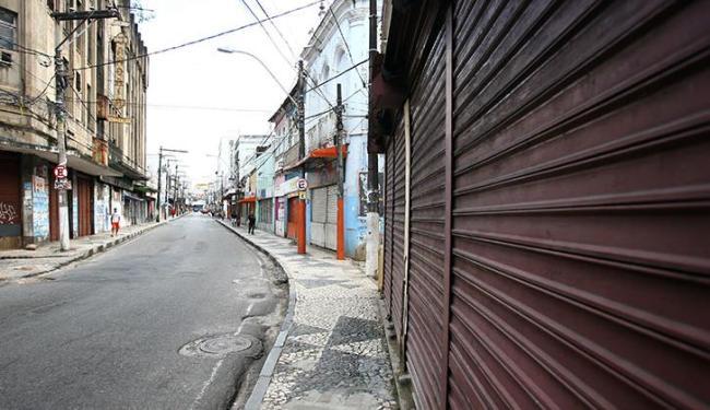 Comércio de rua não vai funcionar na próxima segunda-feira, 20 - Foto: Fernando Amorim   Ag. A TARDE