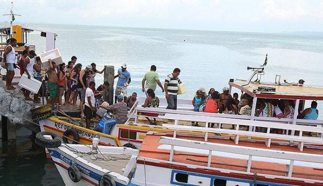 travessia Salvador-Mar Grande - Foto: Vaner Casaes | Ag. A TARDE