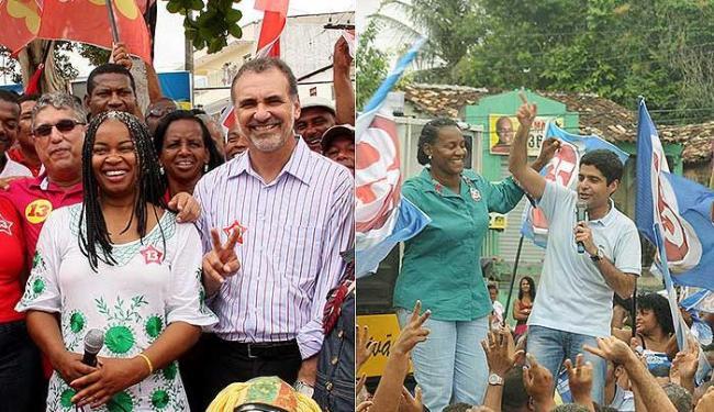 ACM Neto (DEM) e Nelson Pelegrino (PT) chegam aos últimos dias com agenda intensa - Foto: Valter Pontes e Ronaldo Partha l Divulgação