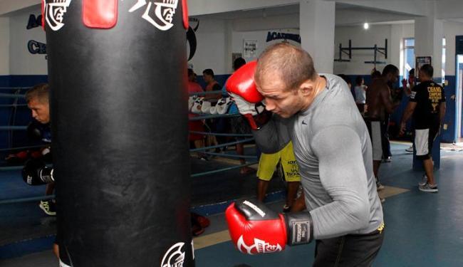 Atualmente em São Paulo, Cigano promete retornar à Bahia para treinar na Champion - Foto: Eduardo Martins   Ag. A TARDE