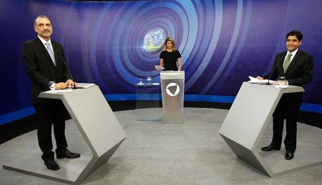 Candidatos trocaram acusações em mais um debate no 2º turno - Foto: Lúcio Távora | Ag. A TARDE
