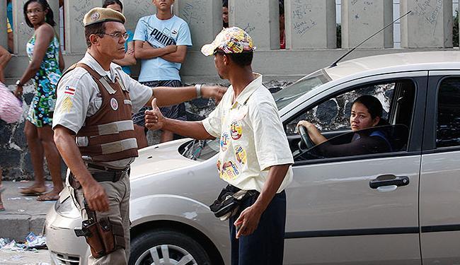 Boca de urna é uma das exceções à determinação da lei em não prender eleitores durante o processo de - Foto: Claudionor Junior | Ag. A TARDE