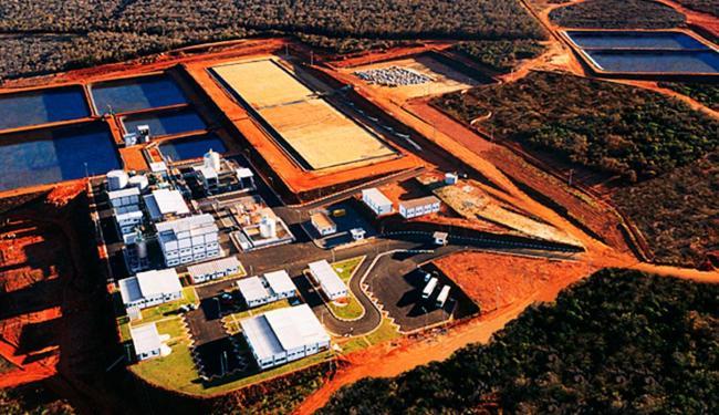 Mina de urânio da Industrias Nucelares do Brasil em Caetité - Foto: INB   Divulgação