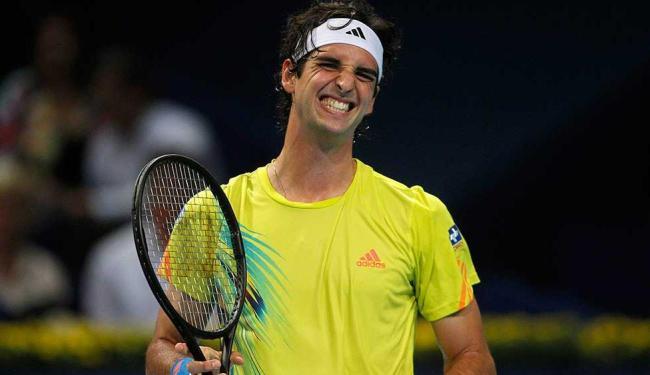 Belluci dá trabalho ao número 1 do mundo, mas leva 2 sets a 1 e está fora do ATP 500 da Basileia - Foto: Arnd Wiegmann   Reuters