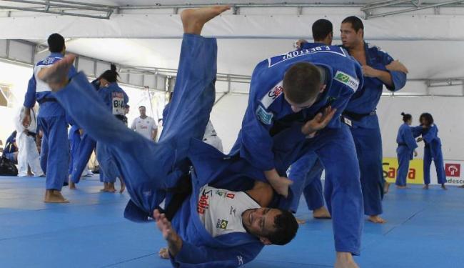 Estreantes no Mundial, judocas não temem substituir medalhistas - Foto: Eduardo Martins | Ag. A TARDE