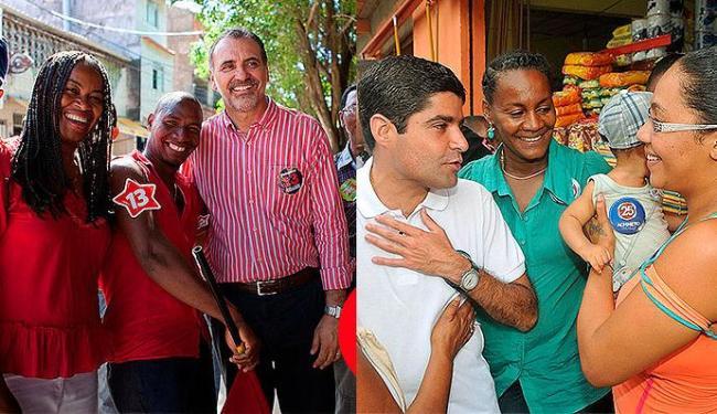 Escolha das vices mostra que os partidos passaram a se preocupar em dar espaço a negros e mulheres - Foto: Divulgação