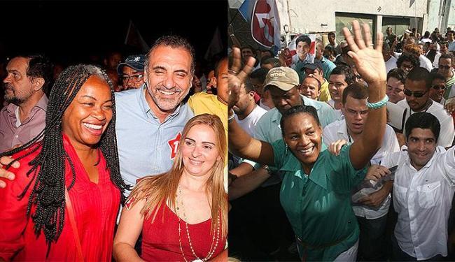 Olívia foi três vezes vereadora e secretária municipal de educação, e Célia foi candidata a deputada - Foto: Divulgação