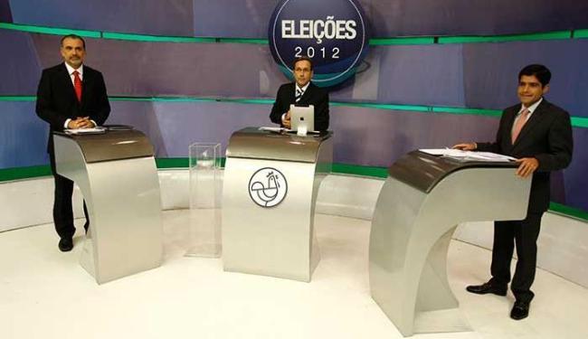Prefeituráveis voltaram a trocar acusações em debate - Foto: Lúcio Távora   Ag. A TARDE