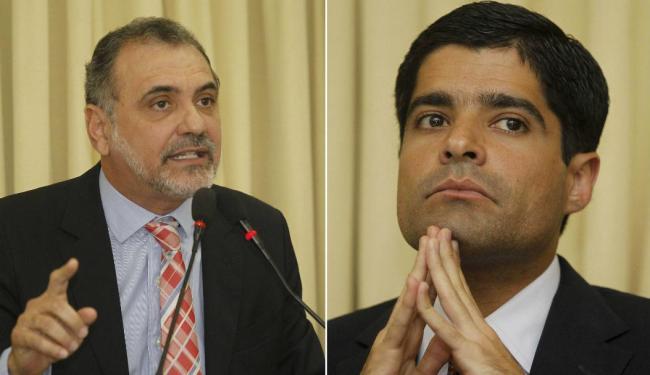 Pelegrino e Neto não realizam comícios nesta quinta, independente do fim do prazo - Foto: Eduardo Martins | Ag. A TARDE