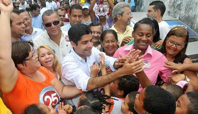 Família Petista criou programa, mas ACM criou fundo, afirma candidato - Foto: Valter Pontes / Divulgação