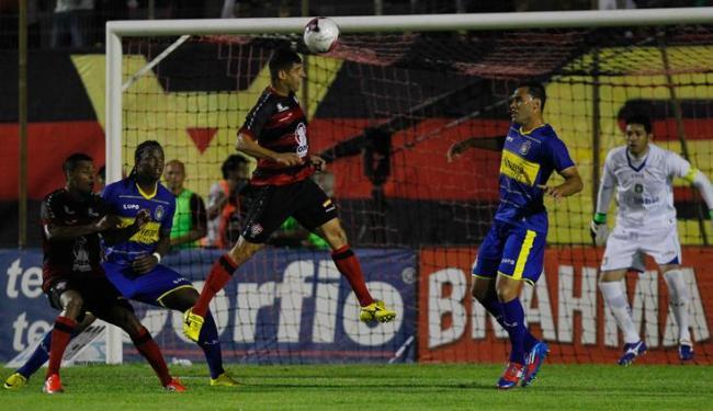 Sem garra e sem pontaria, Vitória sofreu a segunda derrota consecutiva no Barradão - Foto: Eduardo Martins | Ag. A TARDE