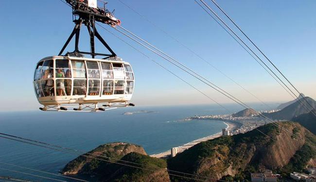 Bondinho do Rio atrai milhares de turistas durante todo o ano - Foto: Divulgação